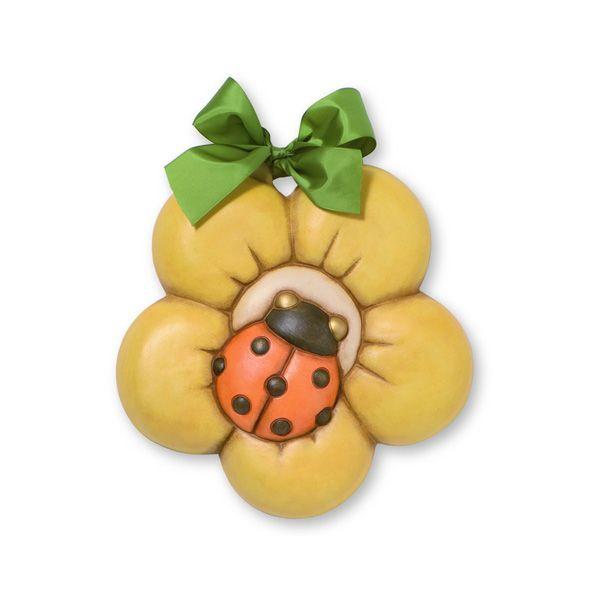 Offerta formella coccinella con fiore grande thun thun for Thun in offerta