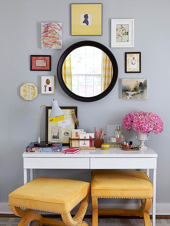 Colorful diy projects display walls and vanities colorful diy projects vanity deskvanity solutioingenieria Images