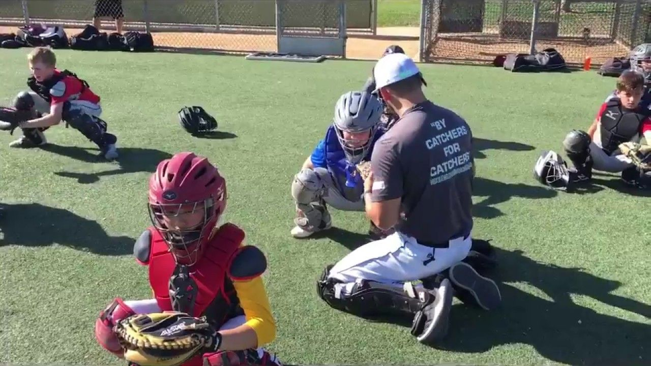 Becoming A Better Catcher Junior Division Action Baseball Workouts How To Become Junior