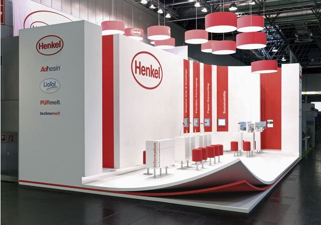 Exhibition Stand Materials : Creatively showing the company s product as a