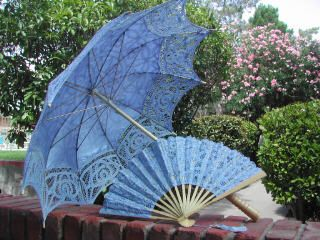 "Lace-Parasols: ""Florence"" Parasol for a Lady"