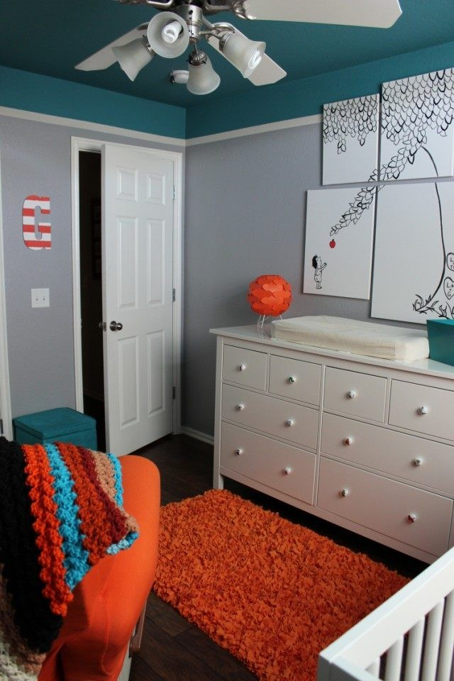 Gris perle, taupe ou anthracite en 52 idées de peinture murale - peinture chambre gris et bleu