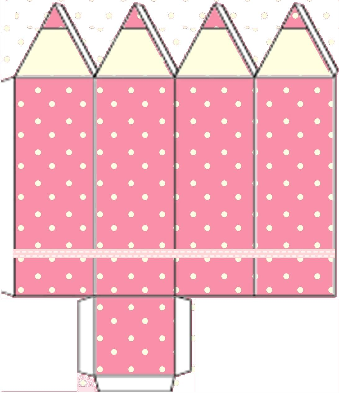 caixa lapis   wiskunde   Pinterest   Cajas, Molde y Papel