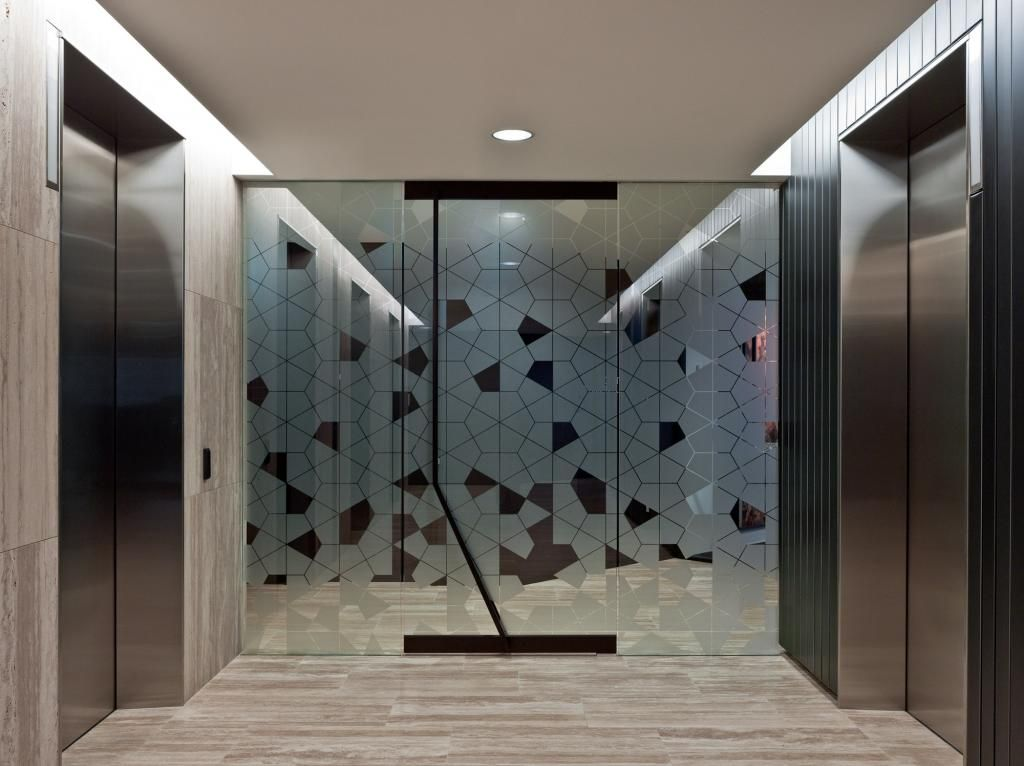 Etched Glass Elevator Lift In 2019 Frosted Glass