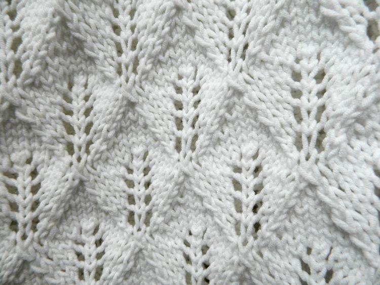 Photo of Uraltes Muster   Frisches Weiß   strick dich glücklich