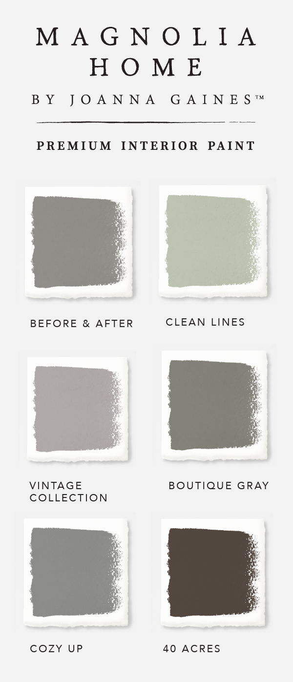 There S No Such Thing As Just One Shade Of Gray In Designer Joanna Gaines Magnolia Home Paint Collection Explore The Versatility These Timeless Neutral