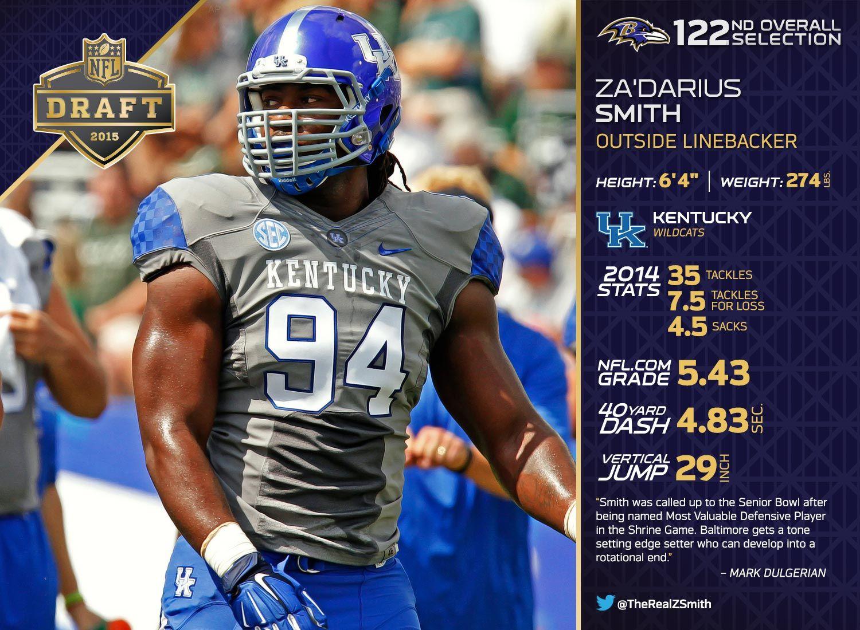 Round 4 Baltimore Ravens Select Olb Za Darius Smith Baltimore Ravens The Selection Uk Football