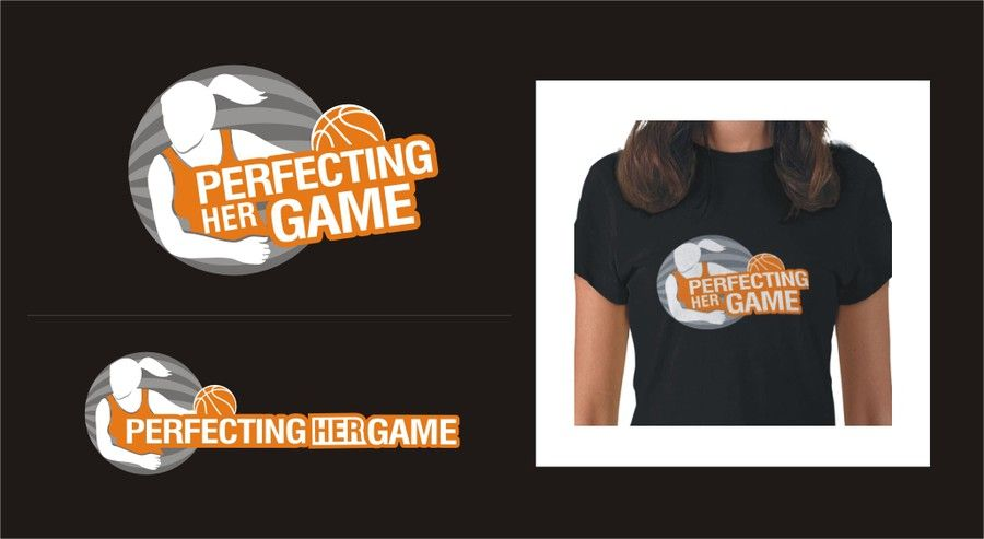 logo for Perfecting Her Game by Denius