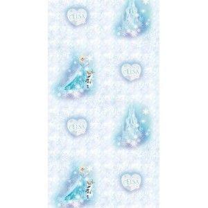 91e1e93475 Jégvarázs mintás tapéta | Jégvarázs, Elsa, Frozen gyerekszoba ...