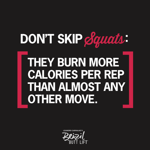 Don't skip #squats! :) I have a love hate relationship with