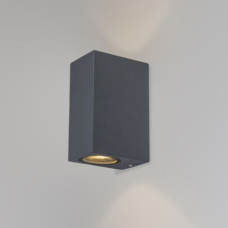Moderne Wandleuchte Anthrazit Ip44 Baleno Ii Lighting Dark