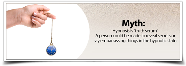 Myth Busted: Hypnosis is a Truth Serum A Person could be made to ...