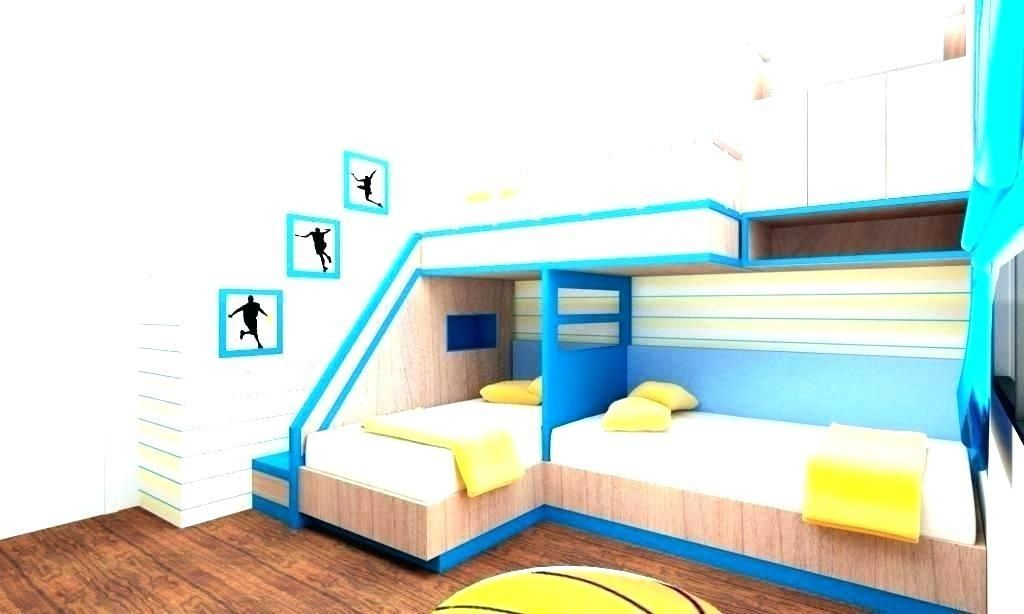 97 3 Beds In One Room Ideas In 2020 Kids Bunk Beds Modern Bunk