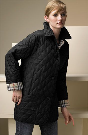 1fdbc6dcdf0683 Quilted Barn Jacket by Burberry... I wish I would have gotten the fitted  one