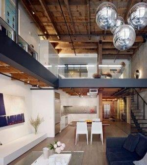Arredamento monolocale con soppalco ultra moderno loft for Arredamento magazzino