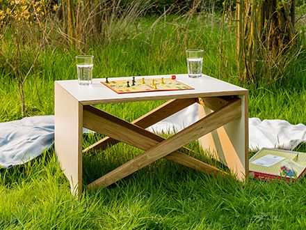 Saskia Menzel: Tisch groWing