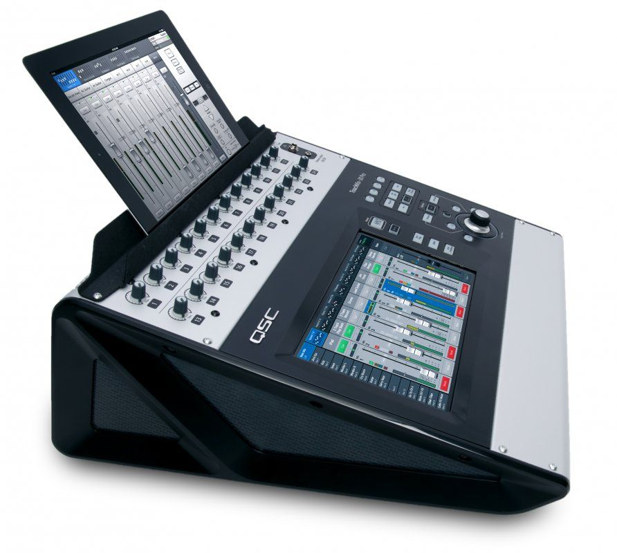 Mezclador digital QSC TouchMix-30 Pro con tableta