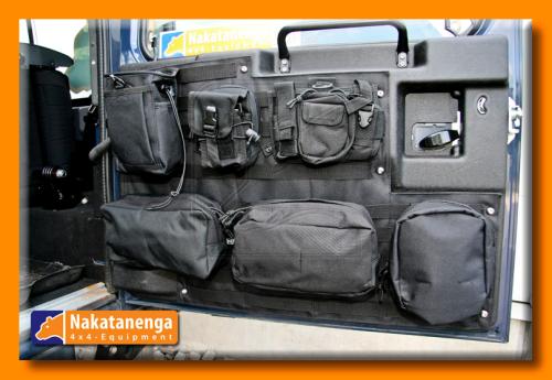 Nakatanenga Tailgate Organizer Black Car Accessories