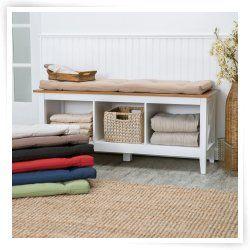 Bench Cushions Shop At Hayneedle Com Indoor Storage Bench Living Room Storage Bench Storage Bench With Cushion