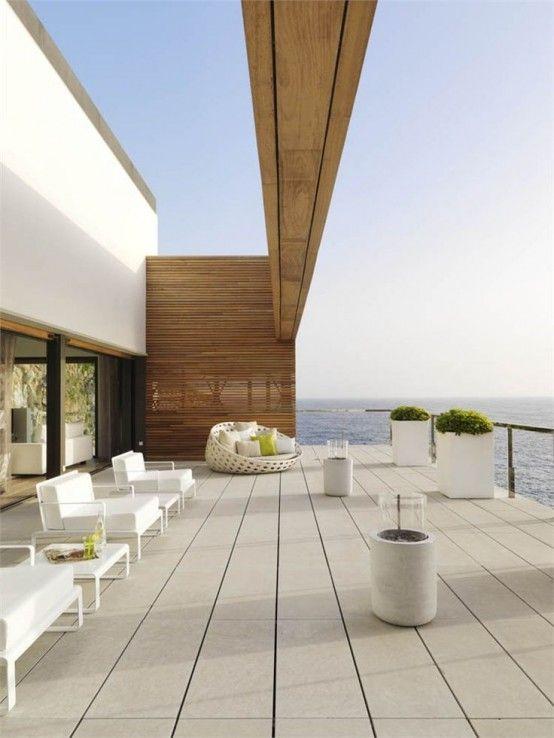 18 Inspiraciones Para Una Terraza Minimalista Terrasses