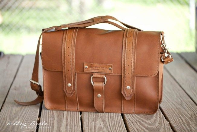 Copper River Bags Brown Leather Camera Bag