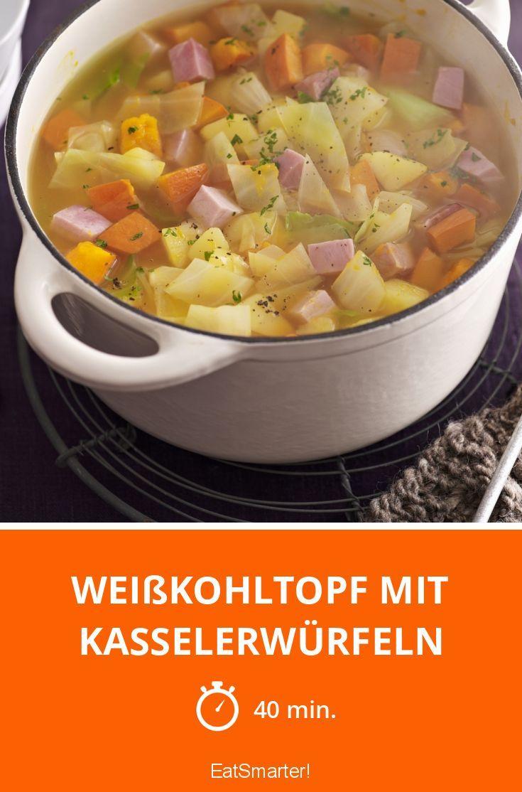 Photo of Weißkohltopf mit Kasselerwürfeln