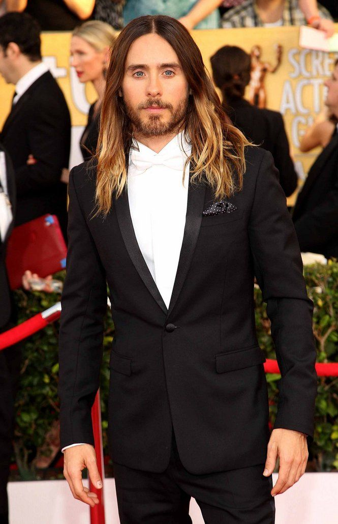 Jared Leto wearing @dior Homme – SAG Awards #2014