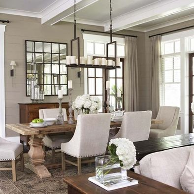 Note both brown and white window trim Taupe Walls Design Pictures