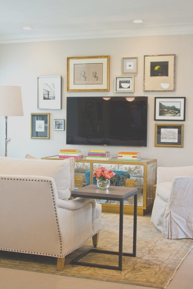 10 Tips For Decorating The Area Around Your Tv Apartment Decor Wall Decor Living Room Living Room Decor