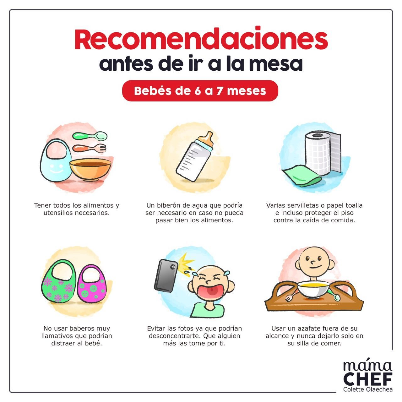 Pin by colette olaechea on mama chef pinterest - Papillas para bebes de 6 meses ...