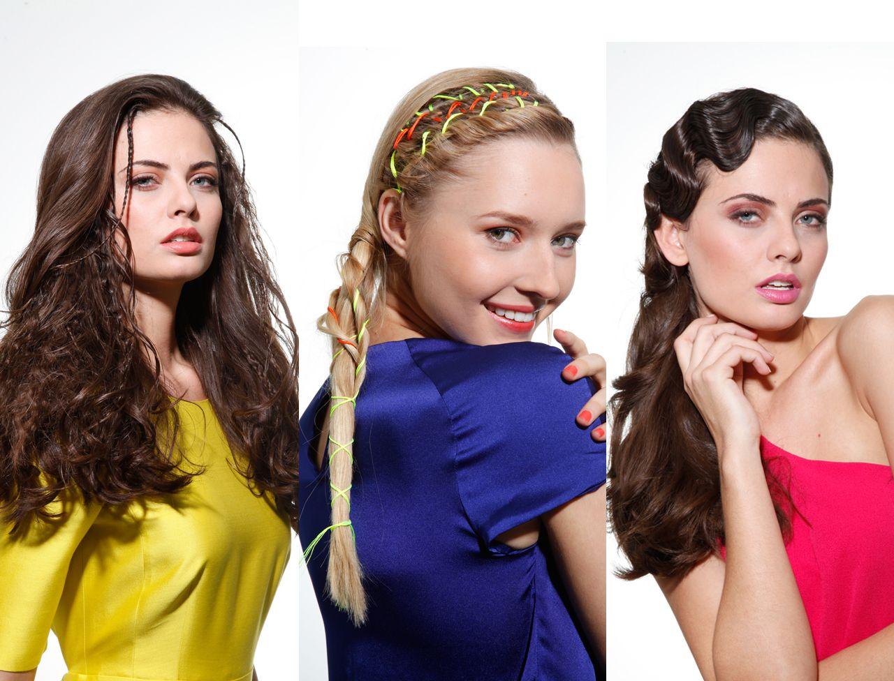Liens colorés, headbands et autres rubans accessoirisent les coiffures pour les rendrent chic et originales. Tom Marcireau, directeur artistique Carita métamorphose la chevelure avec style.