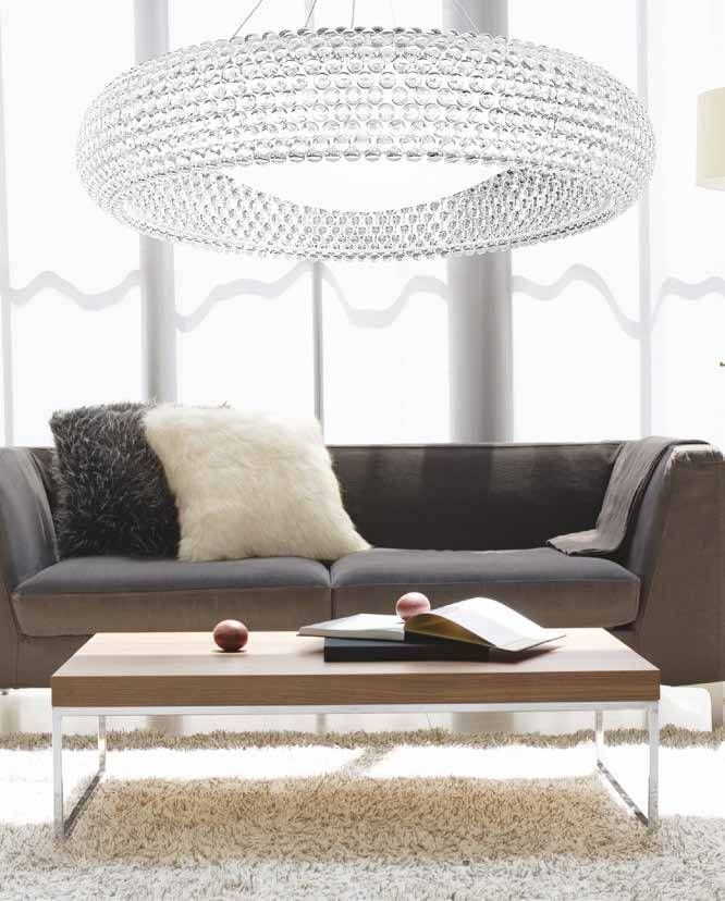 Interior Design Lighting Ideas Jaw Dropping Stunning: Oversize Stunning Glass Suspension Light. Ideal For