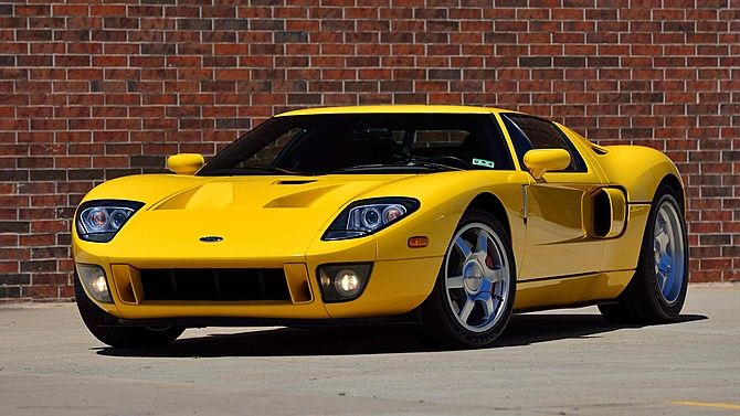 2006 Ford Gt One Of Two Yellow Stripe Delete Examples Mecum