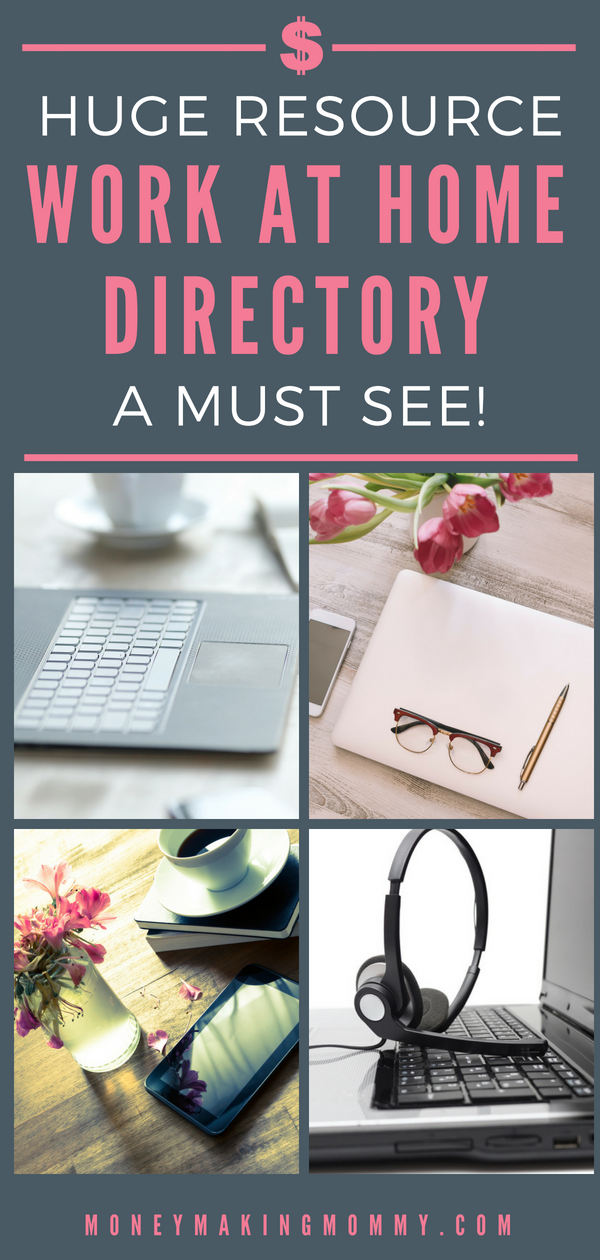 Work From Home Directory with Hundreds of Work at Home