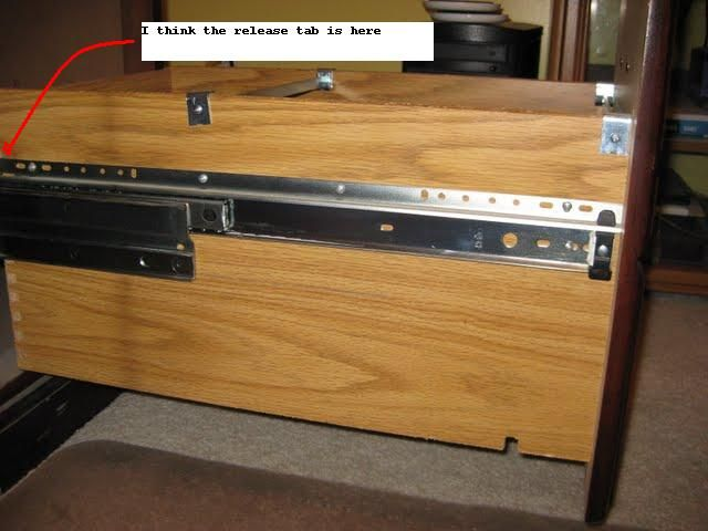 Removing Drawers From Executive Oak Desk