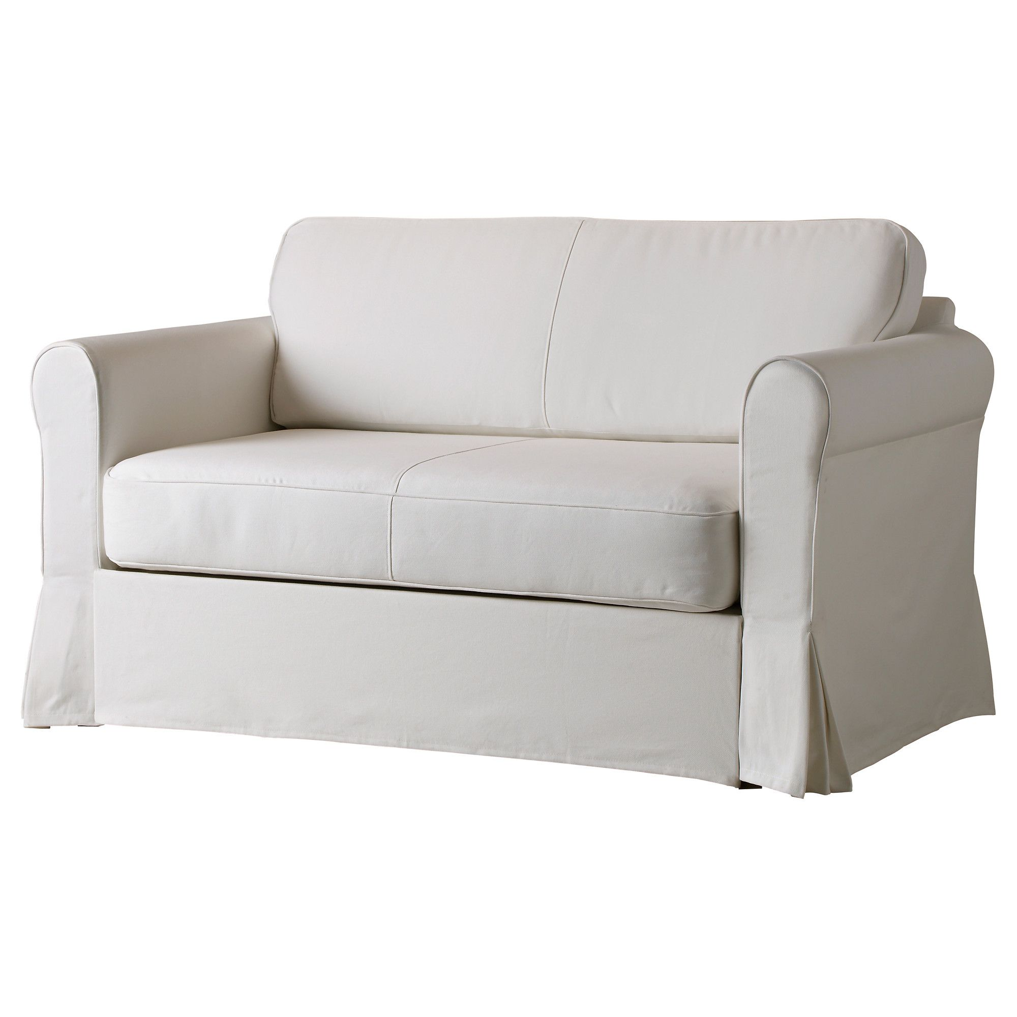HAGALUND Two seat sofa bed Blekinge white IKEA