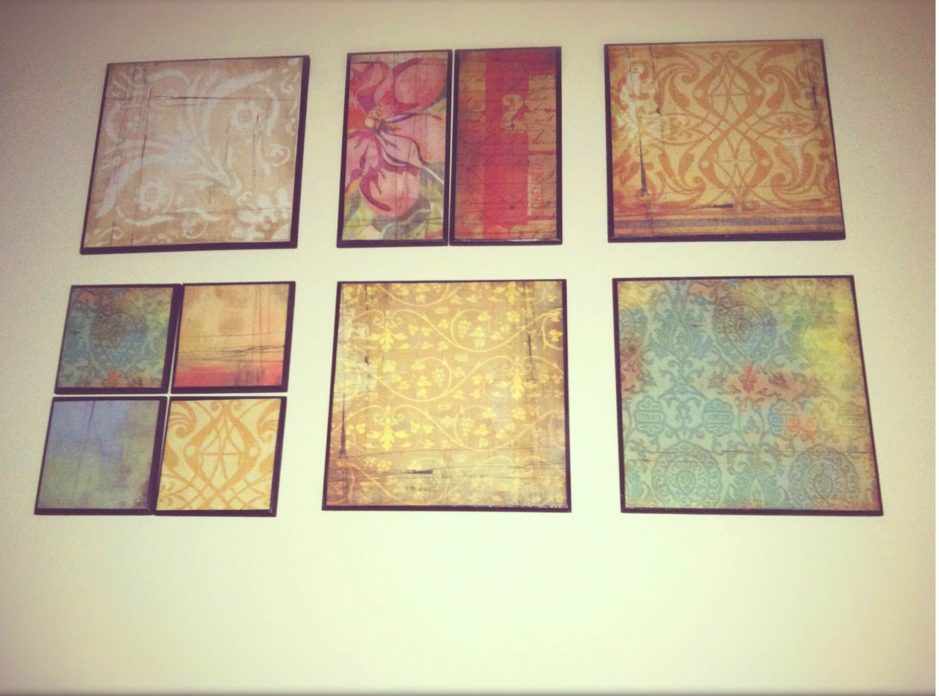 Generous Scrapbook Wall Decor Contemporary - The Wall Art ...