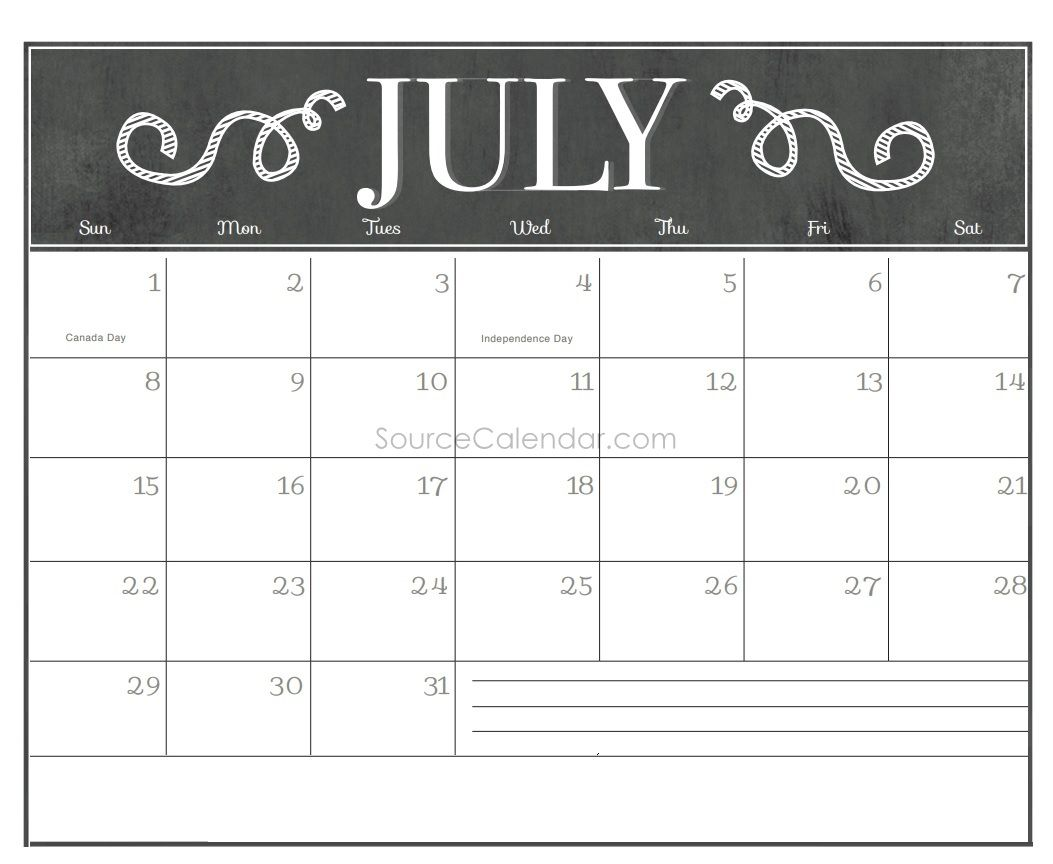 Calendar July 2018 Uk Bank Holidays Excel Pdf Word Templates Https Sourcecalendar Com Ju Calendar Printables Chalkboard Calendar Blank Calendar Template