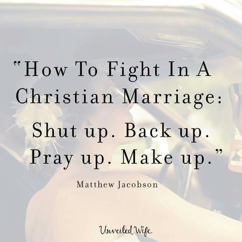 Christian Marriage Quotes Amazing How To Fight In A Christian Marriage  Marriage Relationships