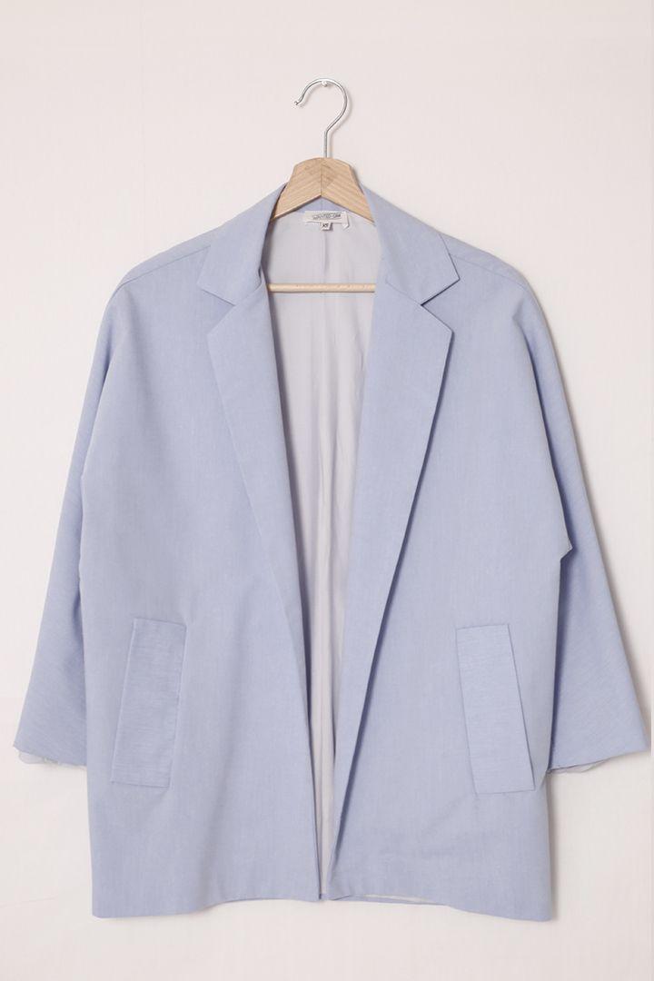 Veste blazer femme oversize