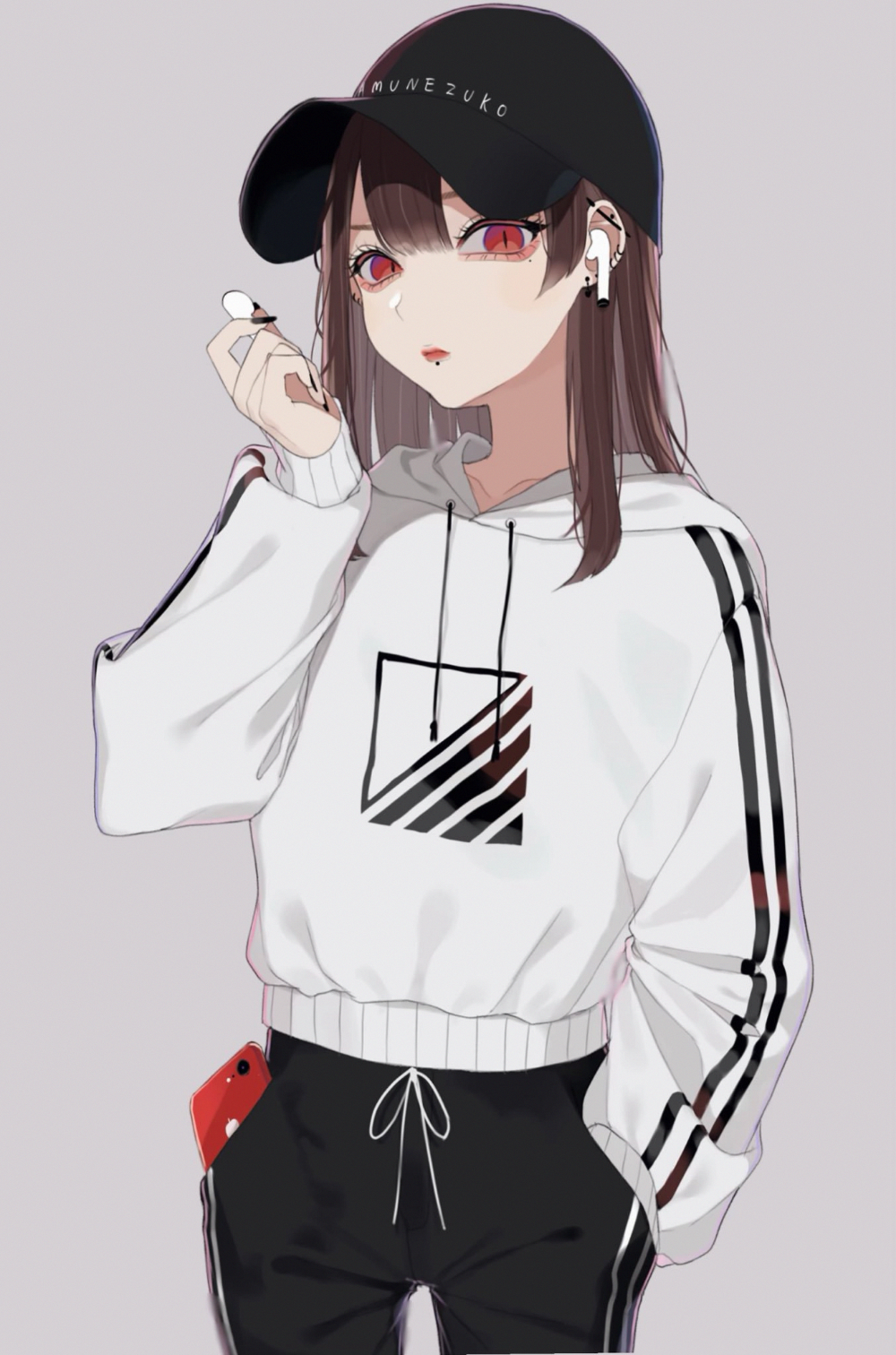 Kawaii Tomboy Cute Anime Girl - Anime Wallpaper HD