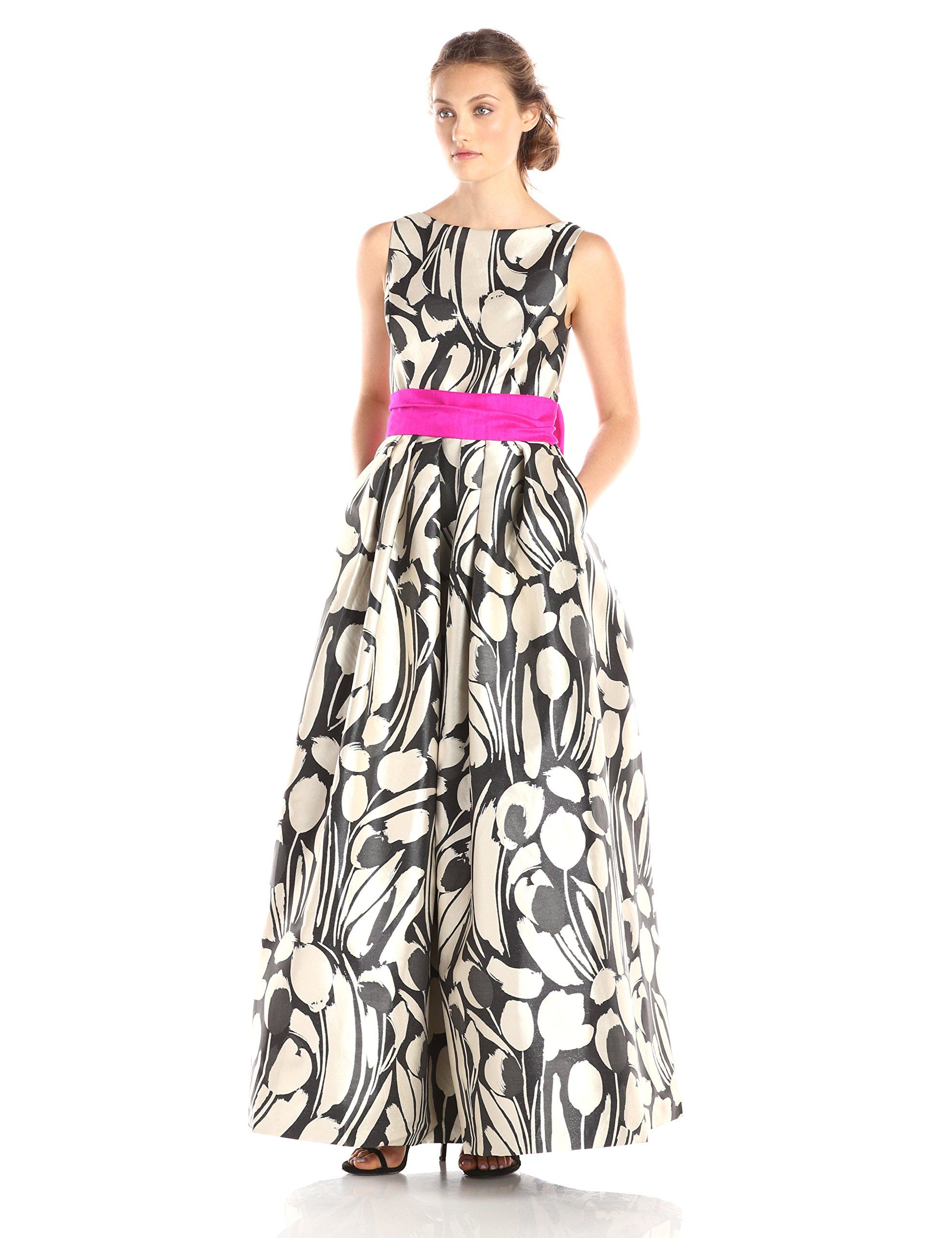 Eliza J Women\'s Printed Ball Gown | Amazon.com | Melissa and Steve\'s ...