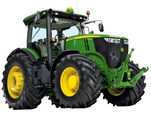 John Deere 7200R, 7215R, 7230R, 7260R, 7280R Tractors Service Repair ...