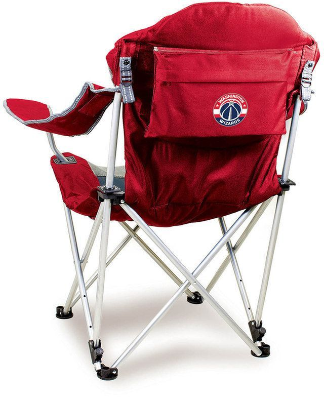 Picnic Time Outdoor Washington Wizards Reclining Camp Chair