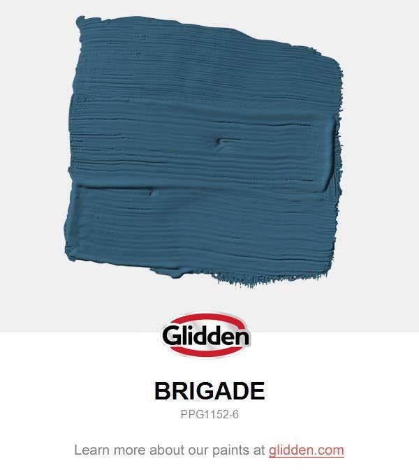 Brigade Paint Color Glidden Paint Colors Glidden Paint