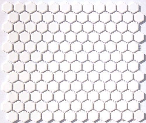 Glazed Porcelain 1 Inch Hexagon Mosaics White 5 99 Sheet Hexagonal Mosaic Porcelain Mosaic Tile Arabesque Mosaic Tiles