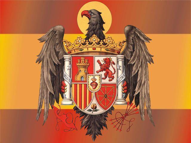 Bandera Aquila San Juan España De Franco Himno De España Bandera Franquista