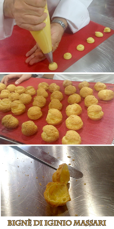 impasto famoso per la preparazione dei Bignè, piccoli dolci leggeri, solitamente di forma tonda o allungata, vuoti all'interno e farciti con varie creme.