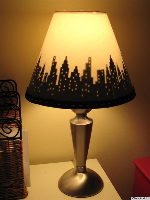 Photos 9 Ways To Add Life To A Boring Lampshade Diy Lamp Shade