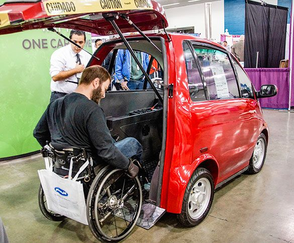 Eco M Accessible Car Small Friendly Made For People With Disabilities